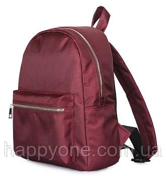 Жіночий рюкзак міський Poolparty XS (бордовий)
