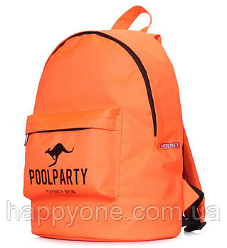 Молодежный рюкзак Poolparty Oxford (оранжевый)