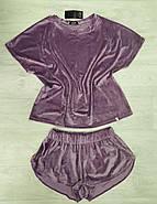 Махрова жіноча піжама, фото 3