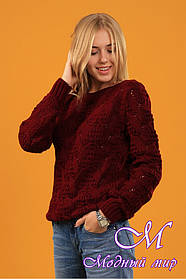 Женский теплый свитер (ун. 44-48) арт. К-13-147