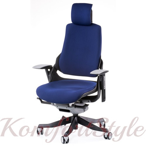 Кресло руководителя WAU NAVYBLUE FABRIC (Е0765)