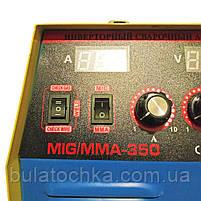 СВАРОЧНЫЙ ПОЛУАВТОМАТ ГРОМ MIG/MMA-350A, фото 7