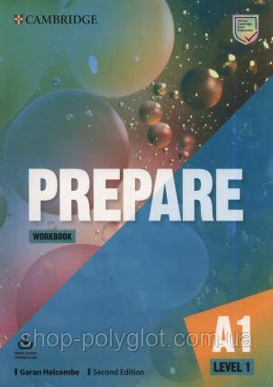 Рабочая тетрадь Cambridge English Prepare! Second Edition 1 Workbook with Audio Download