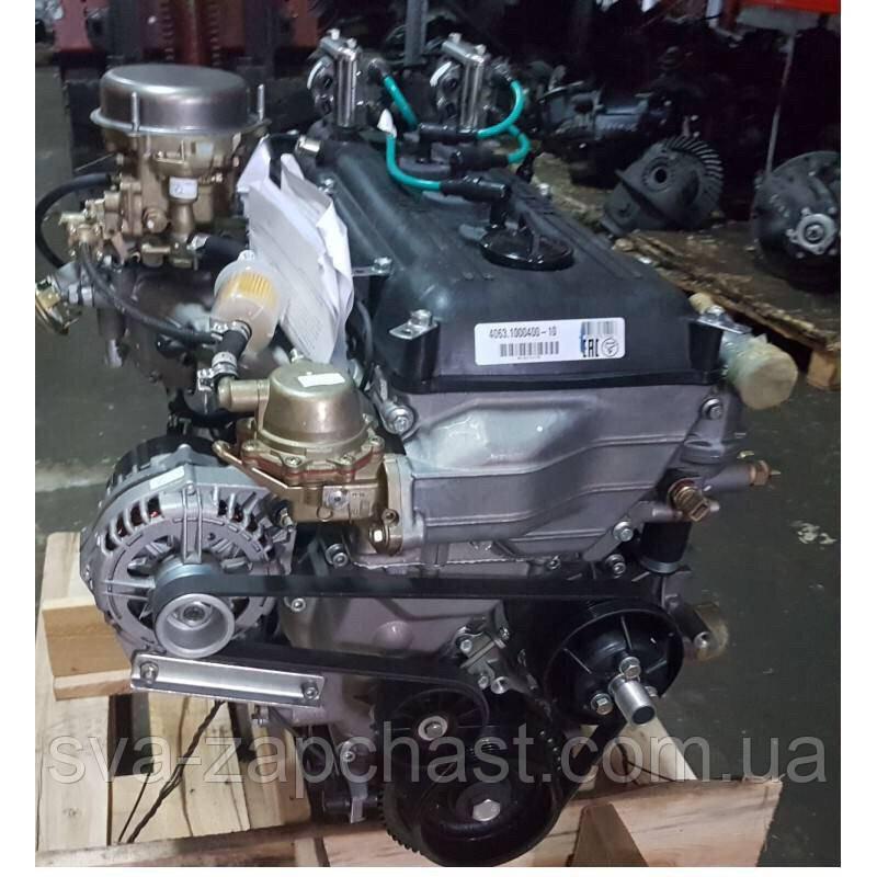 Двигатель ГАЗЕЛЬ 4063 карбюраторный А-92 в сборе пр-во ЗМЗ 4063.1000400-10