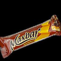 Батончик Maxbar в молочном шоколаде с карамелью и нугою 40г(уп/24шт), фото 1