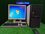 """Компьютер в сборе Fujitsu, 2 ядра, 2 ГБ ОЗУ, 160 Гб HDD + монитор 19"""", Полностью настроен!, фото 7"""