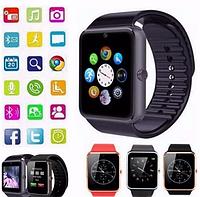 Смарт-часы GT08 с камерой умные телефон блютуз Smart Watch Bluetooth