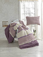 Постельное белье Buldans - Burumcuk lila лиловое евро