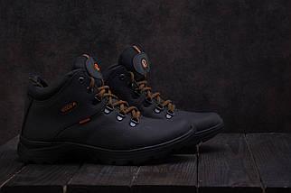 Мужские ботинки кожаные зимние черные Yavgor 552, фото 2