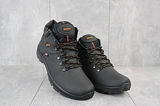 Мужские ботинки кожаные зимние черные Yavgor 552, фото 3
