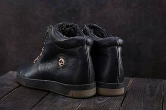 Мужские ботинки кожаные зимние синие Milord Olimp B, фото 3