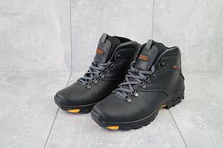 Мужские ботинки кожаные зимние черные Storm RZ- W, фото 2