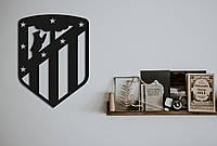 """Картина из дерева """"Atlético de Madrid"""""""