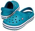 Женские Крокс Сабо Crocs Croсband Бирюзового цвета, фото 6