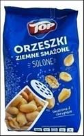 Арахис жаренный соленый TOP ORZESZKI ZIEMNE SMAZONE  400 г. (Польша)