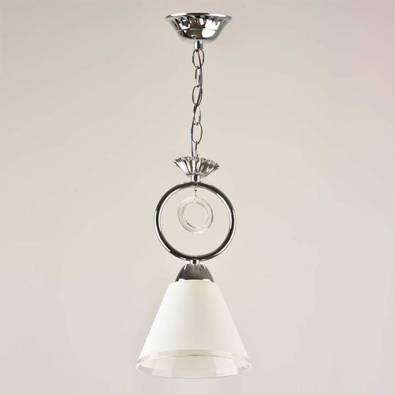 Люстра подвесная на одну лампу SRS-814085/1A CR  хром