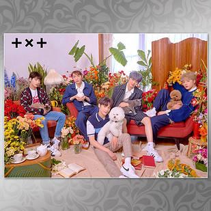 Плакат K-Pop TXT 007