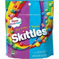 Жевательные конфеты Skittles Wild Berry + Tropical 255,2 g
