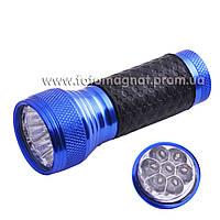 Фонарь BAILONG 7 кристалов 7/3 Н, A103-7 С(фонарик police)