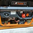 Бензиновый генератор NiK PG 5500, фото 2