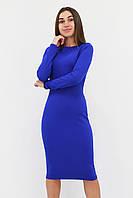 S, M, L / Зручне повсякденне плаття-футляр Helga, синій
