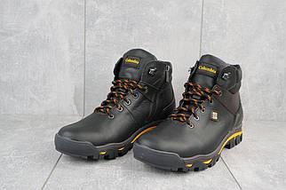 Мужские ботинки кожаные зимние черные Barzoni 330, фото 2