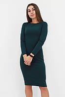 S, M, L / Зручне повсякденне плаття-футляр Helga, зелений