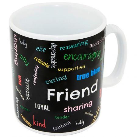 "Чашка гігант ХХL ""Friend"", Кружка-гигант ""Друг"""