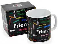 "Чашка гігант ХХL ""Friend"", Кружка-гигант ""Друг"", фото 2"