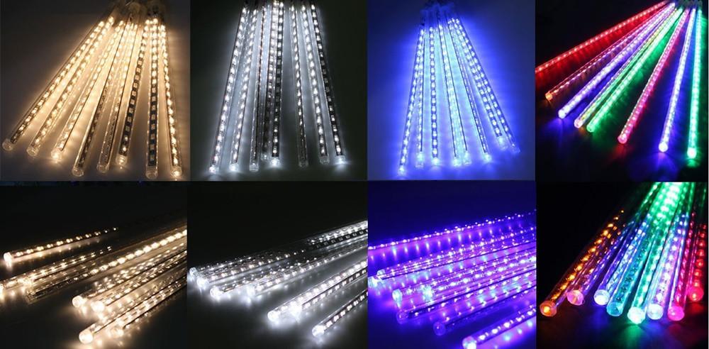 Гирлянда LED тающая сосулька 30см