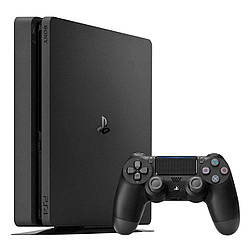 Ігрова приставка Sony PlayStation 4 Slim (PS4 Slim) 500 GB Black
