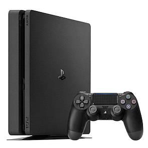Игровая приставка Sony PlayStation 4 Slim 1TB Black (Б/У)