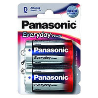 Батарейка Panasonic D 2шт Everyday Power (LR20REE/2BR)