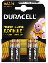 Батарейка Duracell LR03 MN2400 4 шт (6409629)