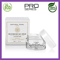 Увлажняющий дневной эко крем для жирной кожи лица полностью органический ,50 мл, Satara Dead Sea