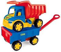 Вантажівка Wader Гігант іграшка візок (65100)