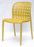 Кресло пластиковое GARI ЖЕЛТЫЙ 11, фото 1