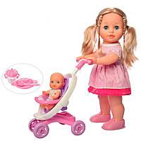 """Кукла функциональная """"Даринка и ее маленькая сестричка"""" (UA) M 5444"""