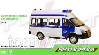 Ігрова поліцейська машина Автопром (7811)