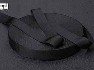 Ременная лента, ширина 20мм, плотность 16.4 г/м2, цв. черный