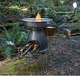 Походная горелка на дровах Biolite серая, фото 5