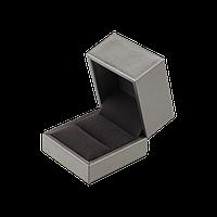 Футляр коробочка для ювелирных украшений подарочная золотая серебряная