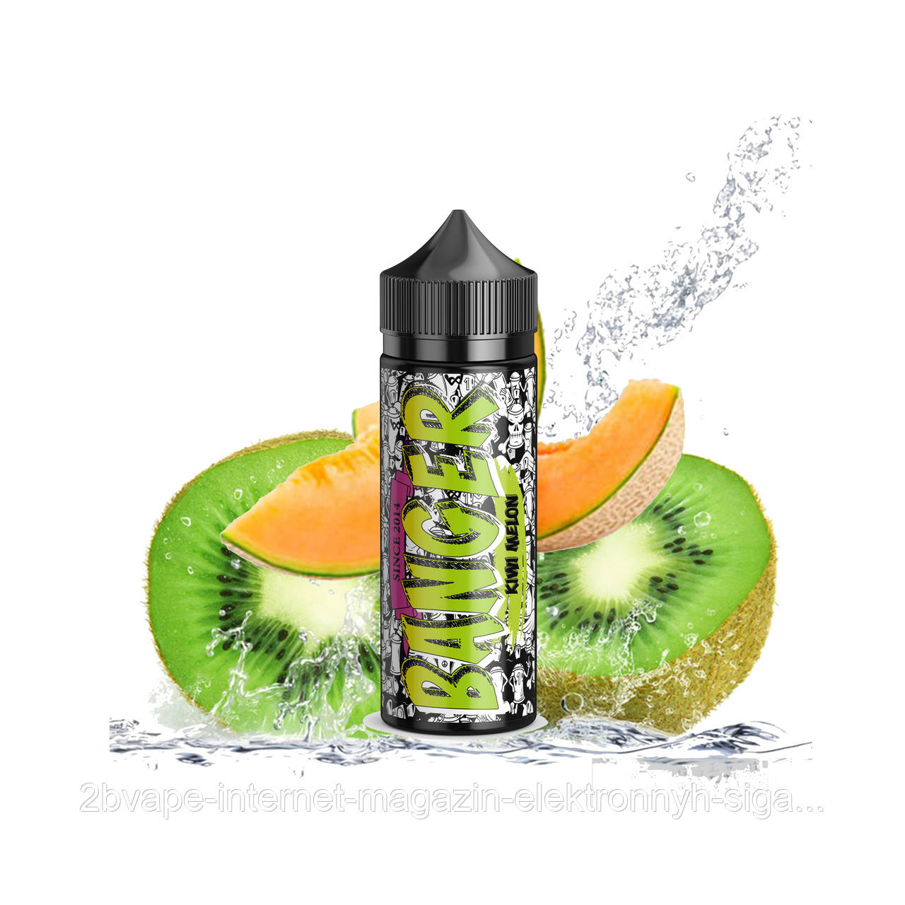 Banger - Kiwi Melon 120мл Жидкость для электронных сигарет, фото 1