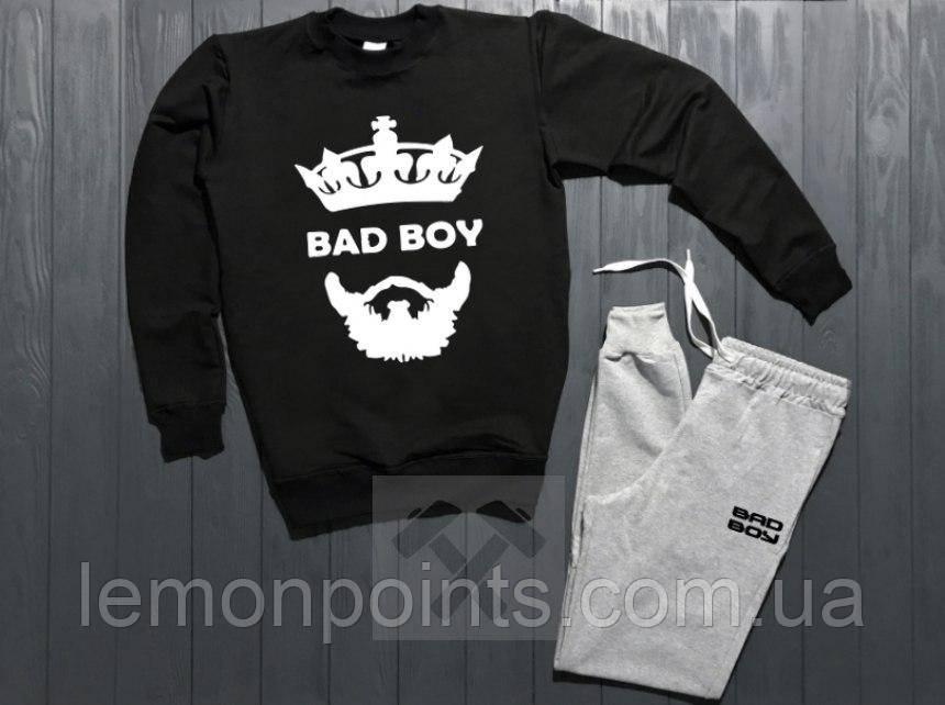 Теплый мужской спортивный костюм (флис) Bad Boy