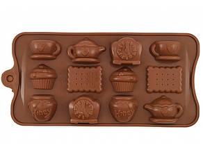 Форма силикон для конфет Сказочный завтрак