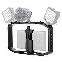PULUZ PU418 Металлическая Портативная Стойка Стабилизатора с Холодным Креплением для Обуви для Smarphone DSLR камера Экшн Спорт камера-1TopShop