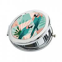 Карманное зеркало ZIZ Попугай (27025)