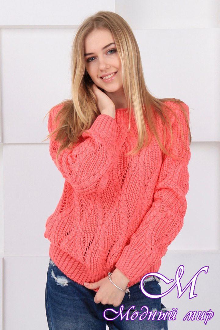 Теплый шерстяной свитер (ун. 44-48) арт. К-13-141