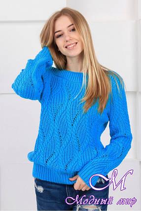 Теплий вовняний светр (ун. 44-48) арт. К-13-141, фото 2