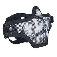 Emerson Strike Steel Half Face Mask Skull